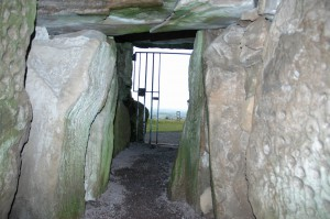 Passage Tomb at Loughcrew Cairns