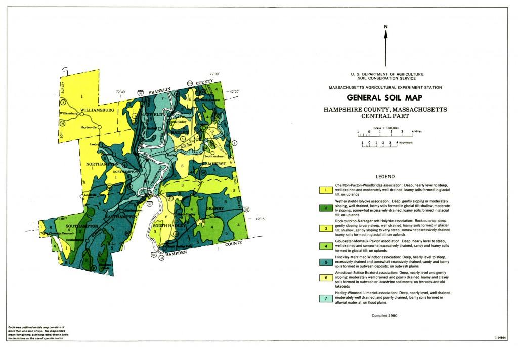 General Soil Map