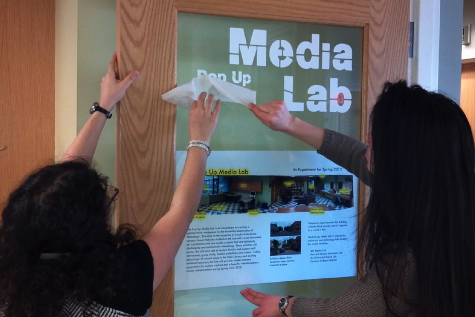 Pop Up Media Lab Launched