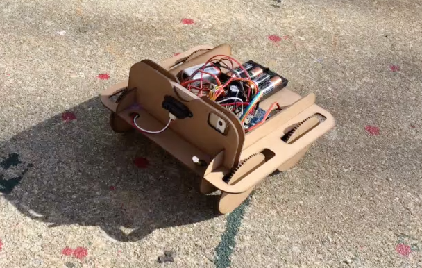 Drone Rover in Testing